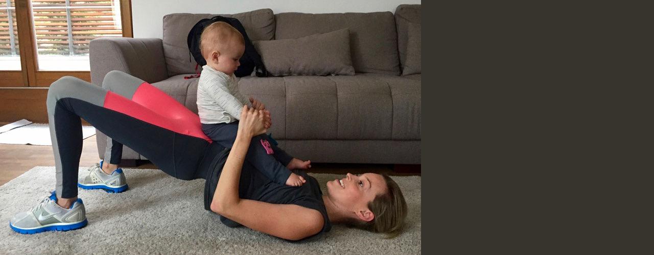 Cvičit na mateřské